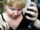 Blonde Interracial Drinking Cu And Blowjob