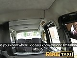 FakeTaxi Secretary looking lady with huge tits and wet pussy